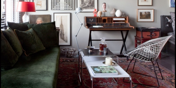 Qitoya Humphrey Desk Barrymore Trunk